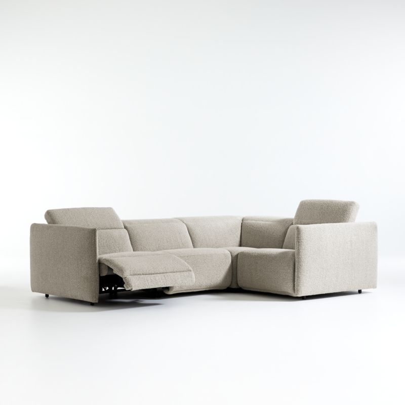 Leisure Power Recliner 4-Piece Sectional