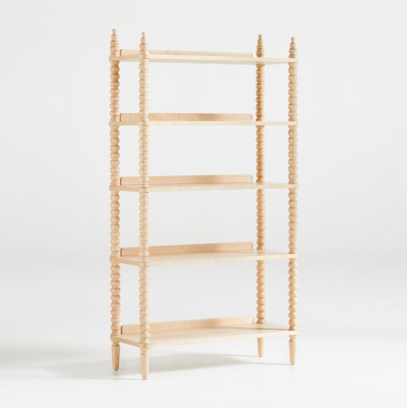 Jenny Lind Maple Bookcase