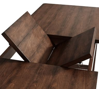 """Mateo Extending Dining Table, Salvaged Gray, 73""""-91""""L"""