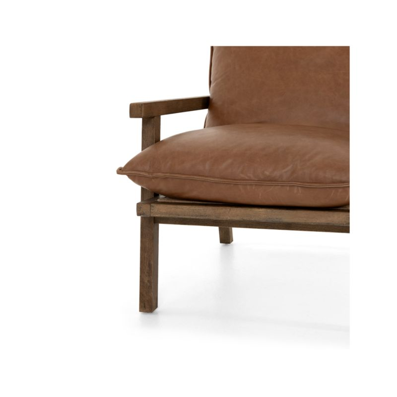 Tanner Chaps Saddle Leather Chair