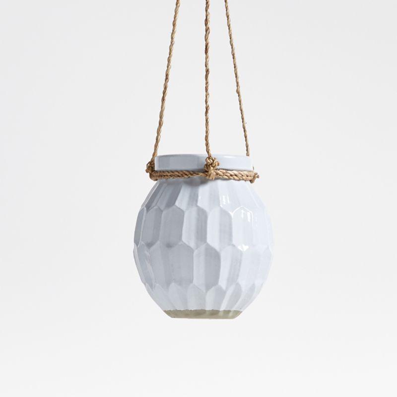Phlox Ceramic Hanging Planter
