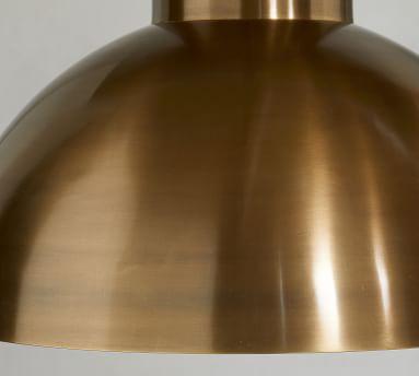 Rory Pendant, Antique Brass
