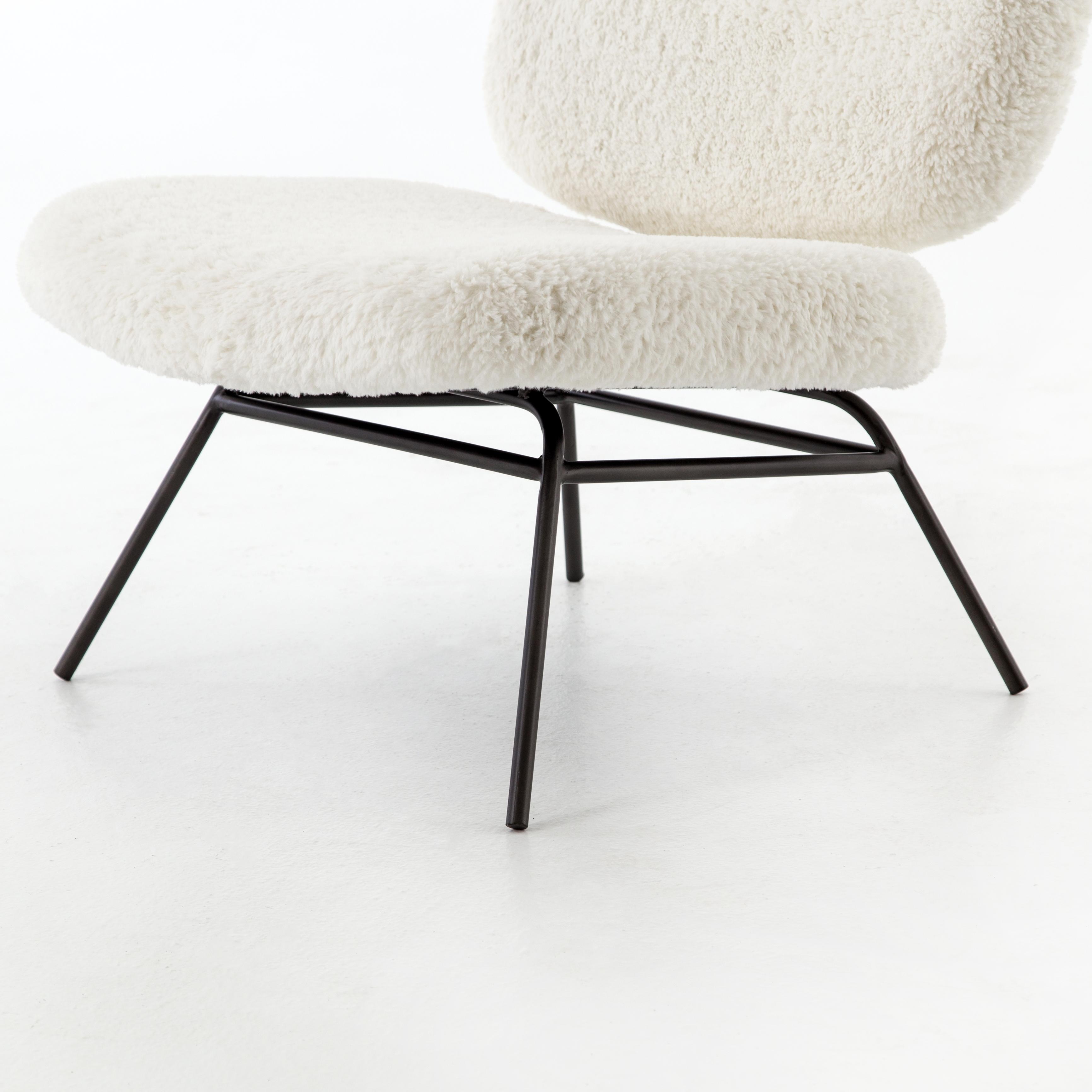 Amanda Accent Chair, Ivory