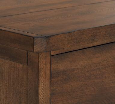 Mateo 6-Drawer Wide Dresser, Salvaged Black