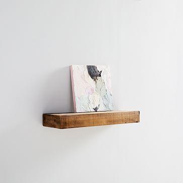 Reclaimed Wood Floating Shelf- 3 Ft, Reclaimed Pine