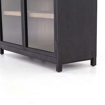 Drifted Oak & Glass Cabinet