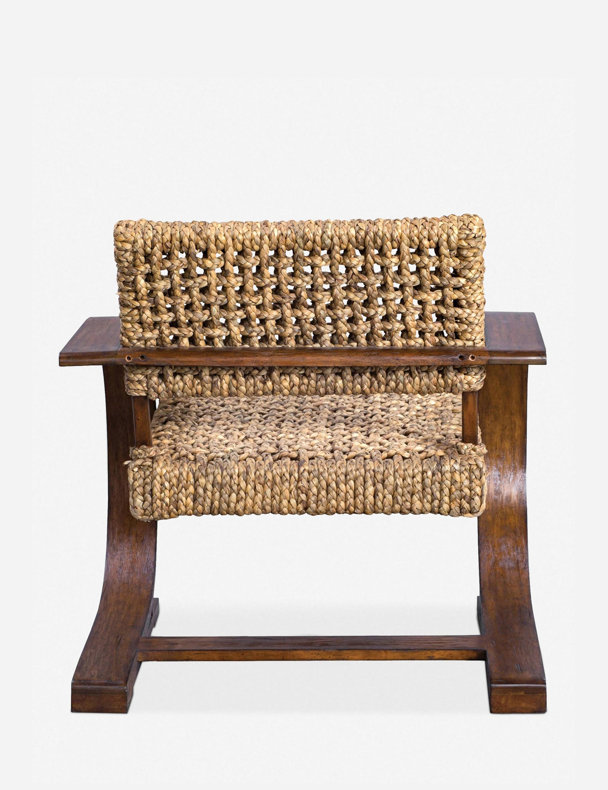 Shaka Accent Chair, Weathered Pecan