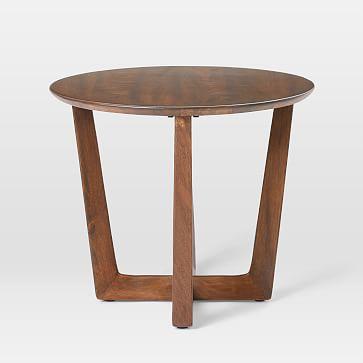 Stowe Side Table, Dark Walnut