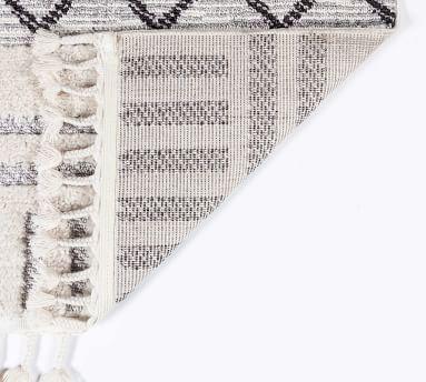 """Tahnee Synthetic Rug, 8'6 x 12'6"""", Gray"""