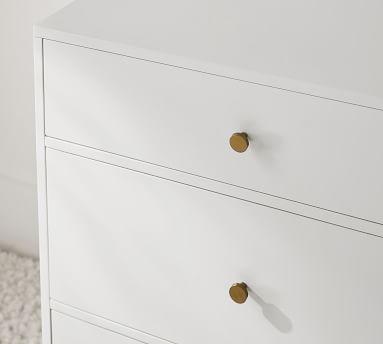 Delaney 6-Drawer Wide Dresser, White