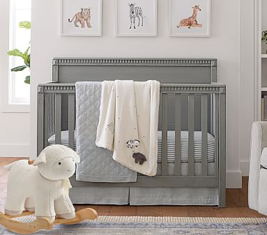Rory 4-in-1 Convertible Crib, Montauk White, In-Home Delivery
