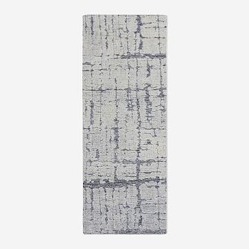 Birch Rug, 8x10, Frost Gray