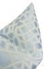 """Faux Silk Safari Pillow Cover, Mist, 20"""" x 20"""""""