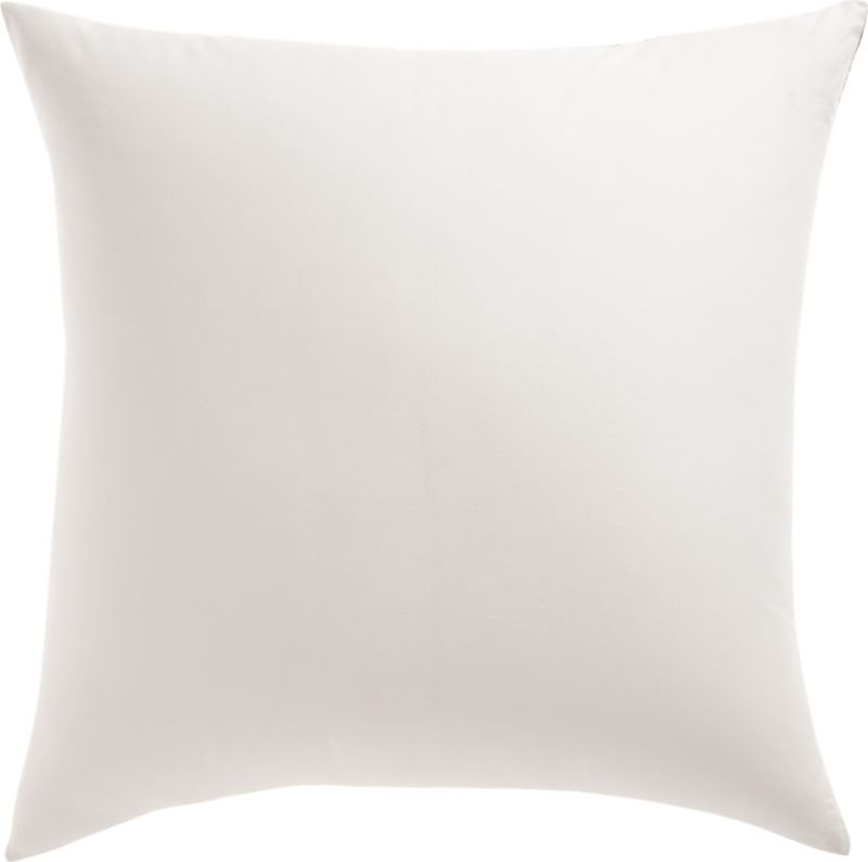 """23"""" Midnight Jungle Tropical Pillow with Feather-Down Insert"""