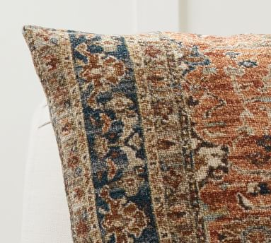 """Farida Printed Pillow Cover, 22 x 22"""", Warm Multi"""