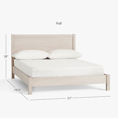 Costa Classic Bed, Full, Weathered White