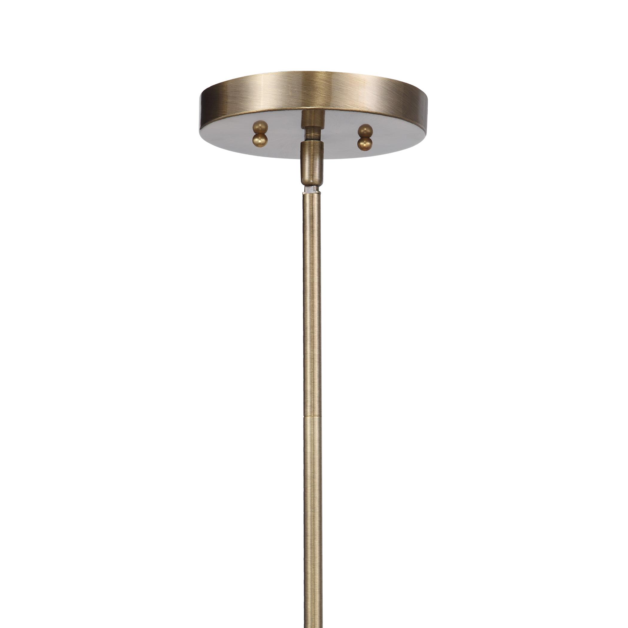 Holgate 1 Light Brass Pendant