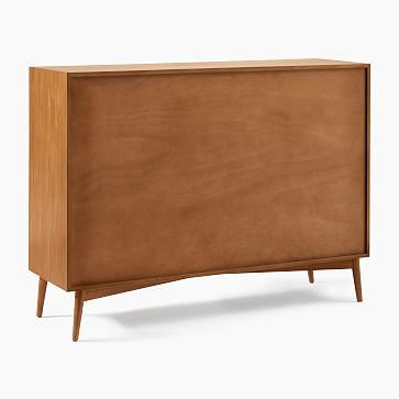 Mid-Century 8-Drawer Dresser, Acorn