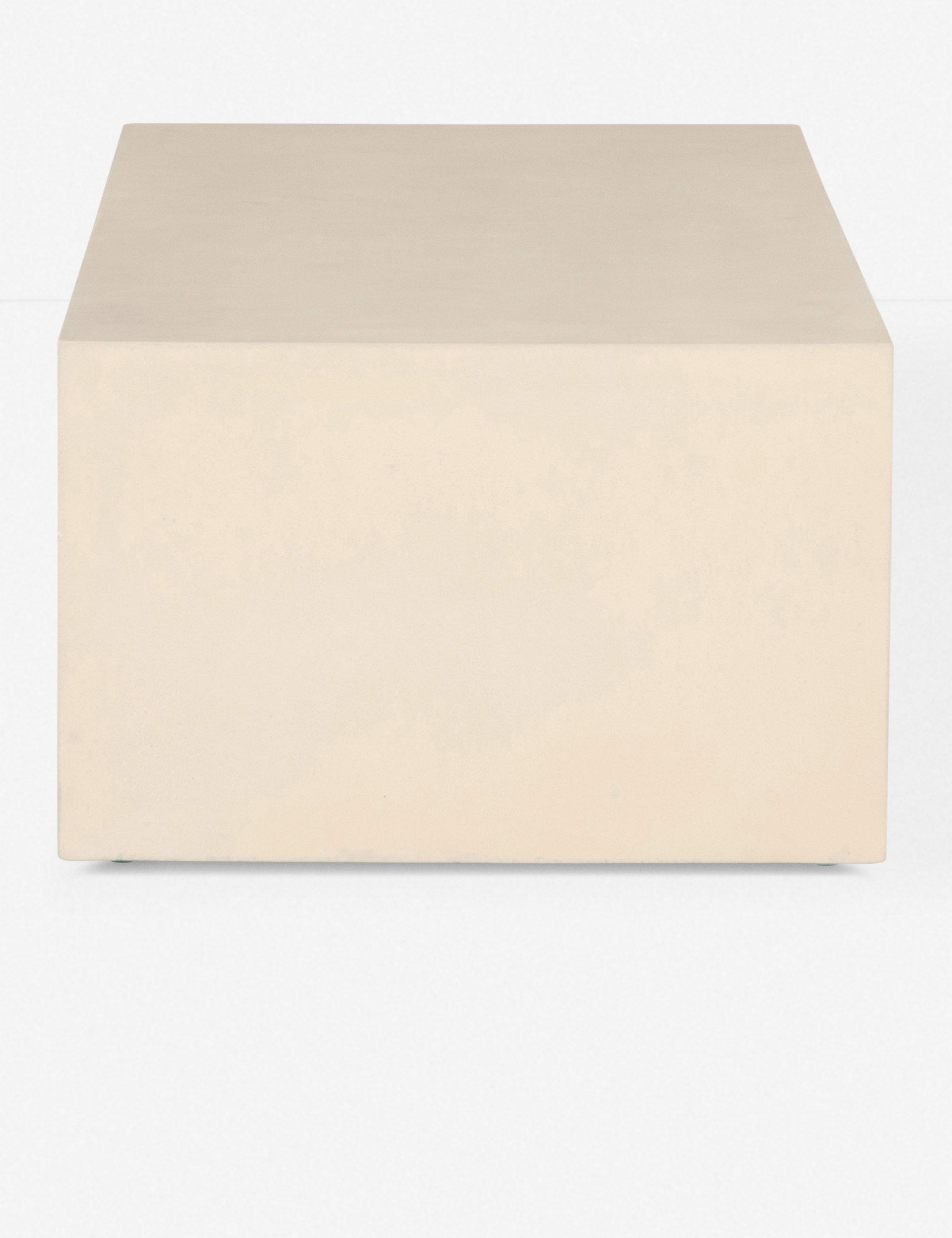 Aprilette Coffee Table, Parchment White