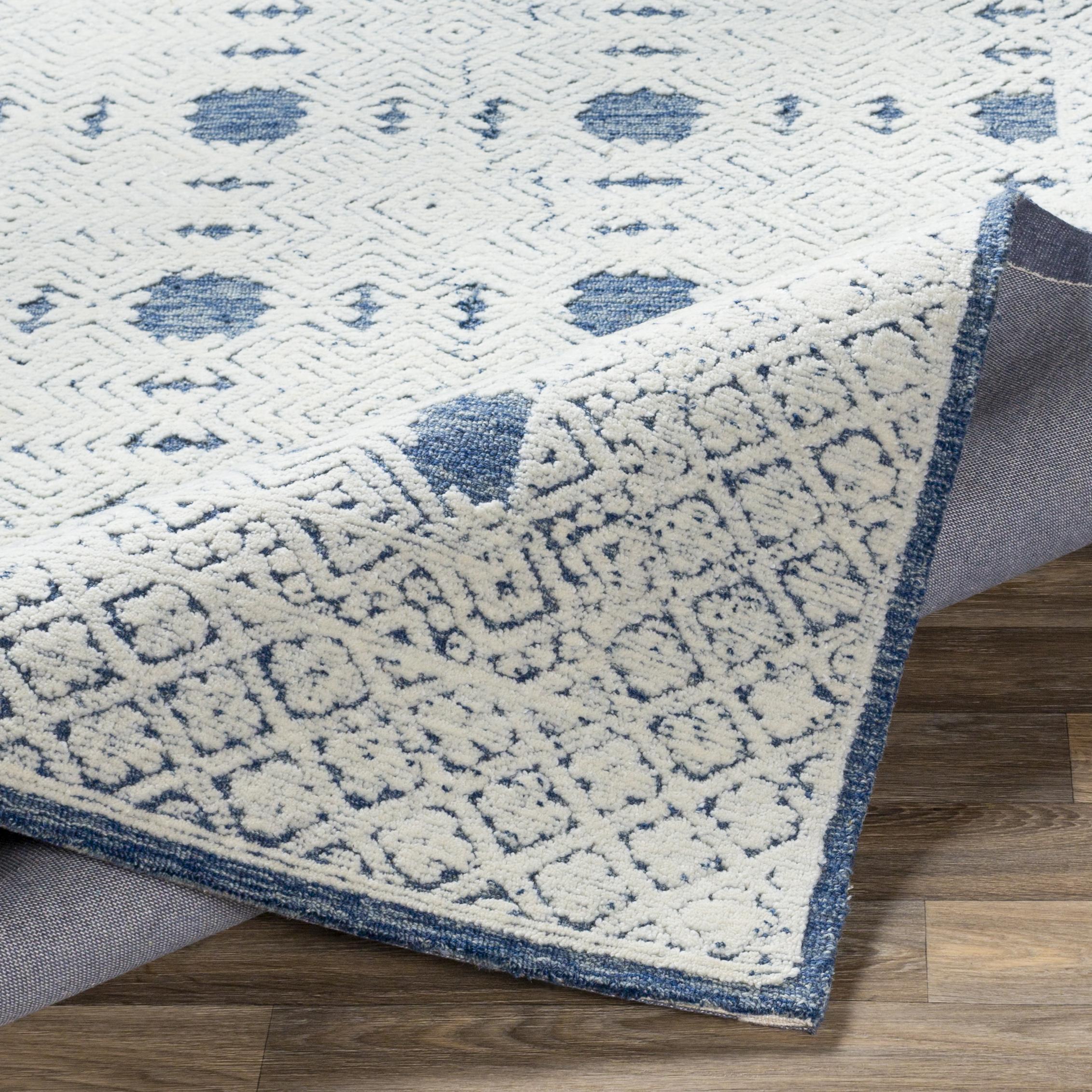 Netta Rug, Blue 4' x 6'