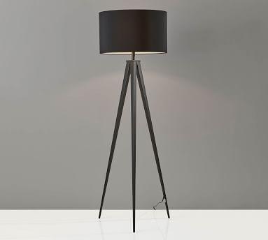 Ibra Floor Lamp, Natural