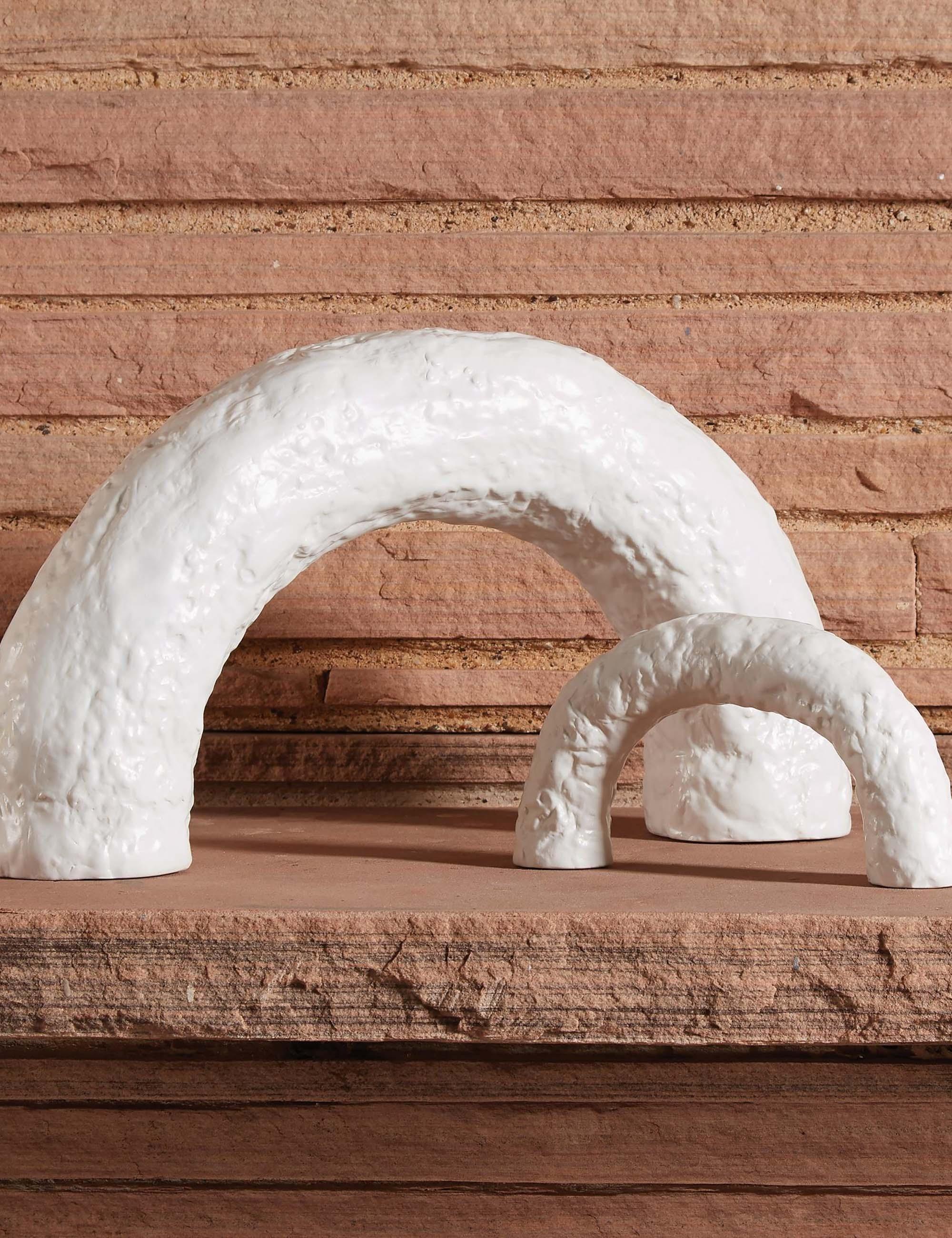 Lemieux et Cie Large Germain Arch, Matte White