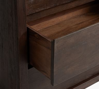 Cayman 3-Drawer Dresser, Coffee Bean