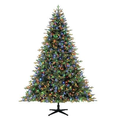 Home Decorators Collection 7.5 ft Mcclain Norway Spruce LED Pre-Lit Tree with 900 SureBright Color Changing Lights