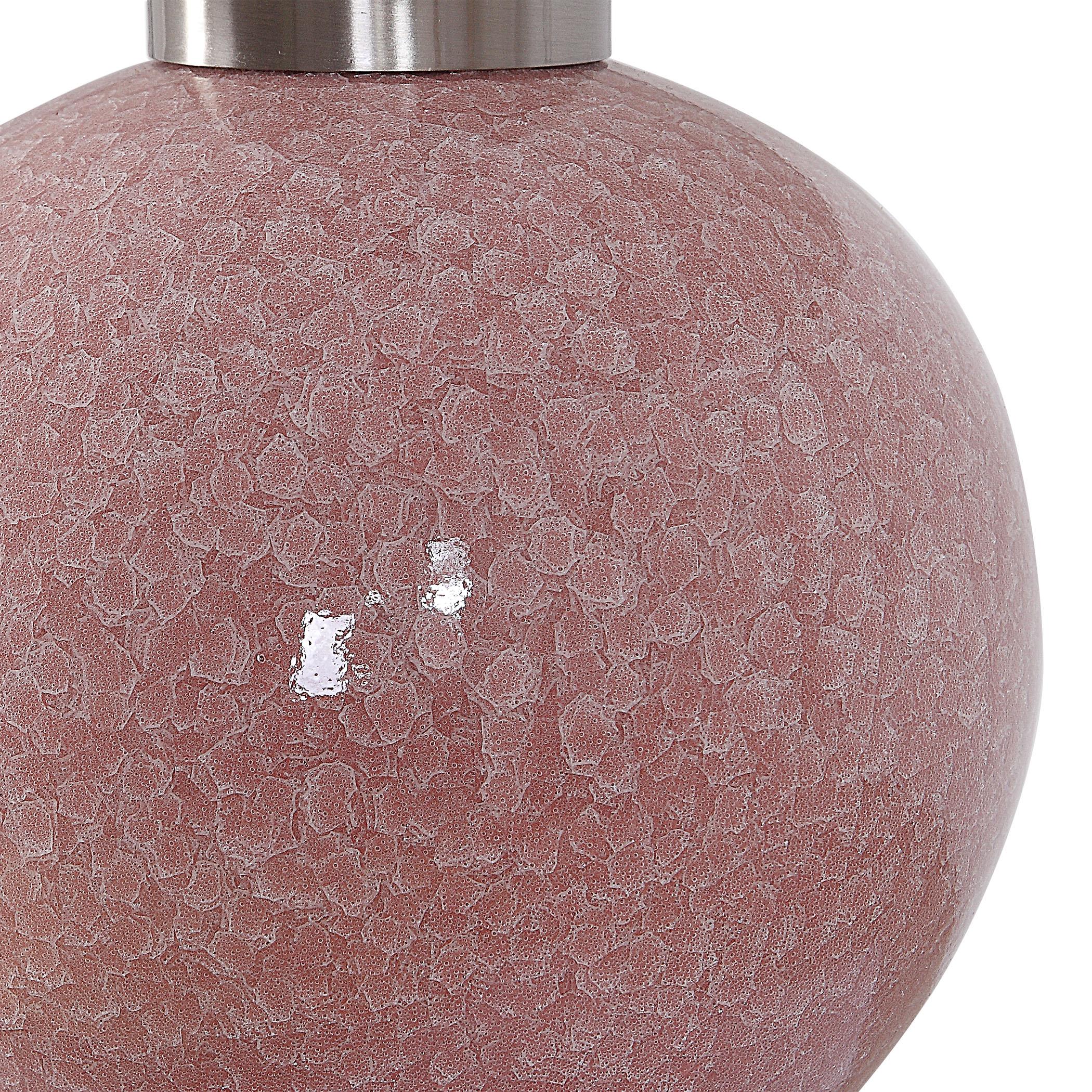 Rhoda Soft Pink Buffet Lamp
