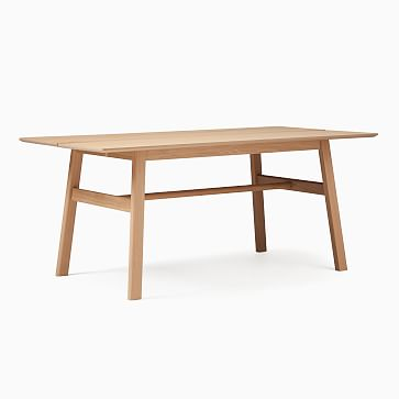 Jodie Rectangle Dining Table, Oak