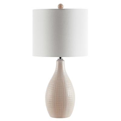 Safavieh Gremla 25 in. Cream Table Lamp