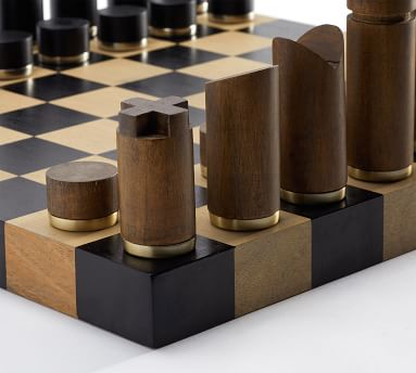 Wooden Chess Board Game