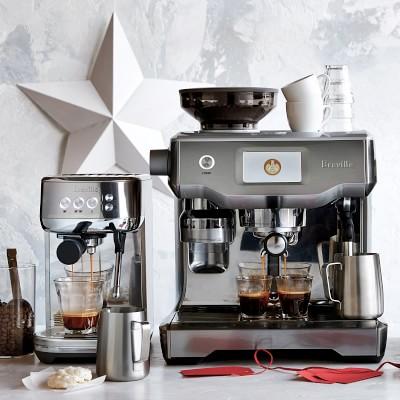 Breville Bambino Plus Espresso Machine, Oyster Shell