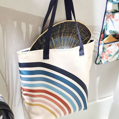 Roxy Recycled Beach Tote, Island Life