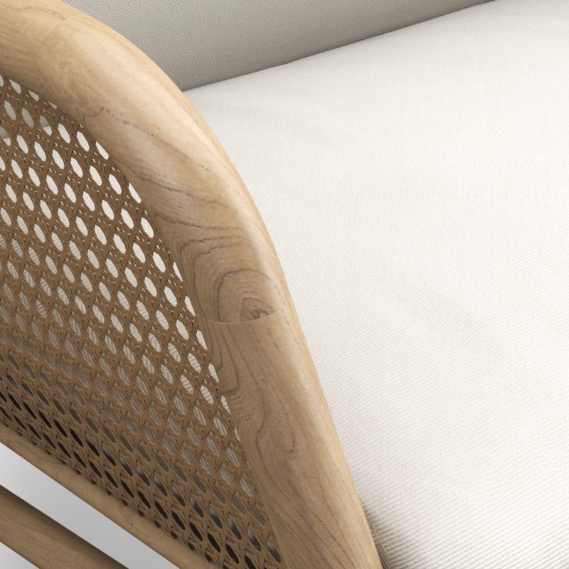 Verne Chair with Cushions / Newport, Salt