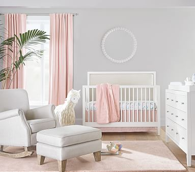Parker 3-in-1 Convertible Crib, Simply White