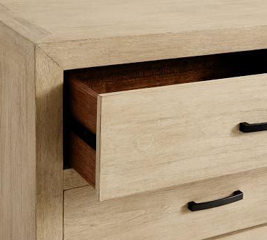 Linwood 5-Drawer Tall Dresser, Bone White