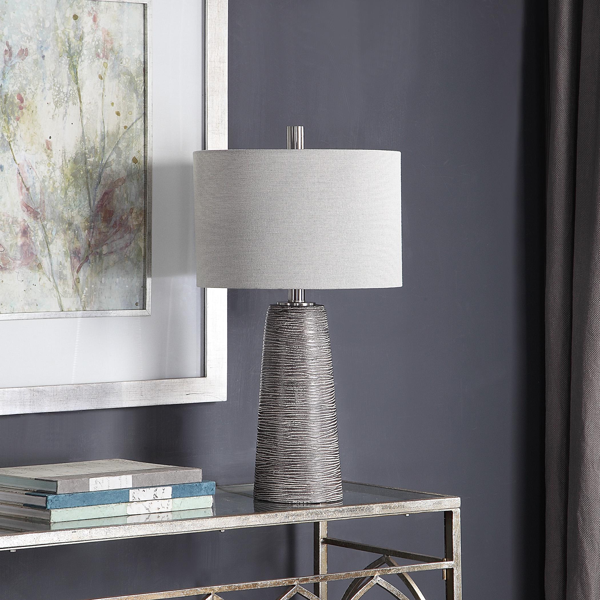 Bronze Ceramic Table Lamp
