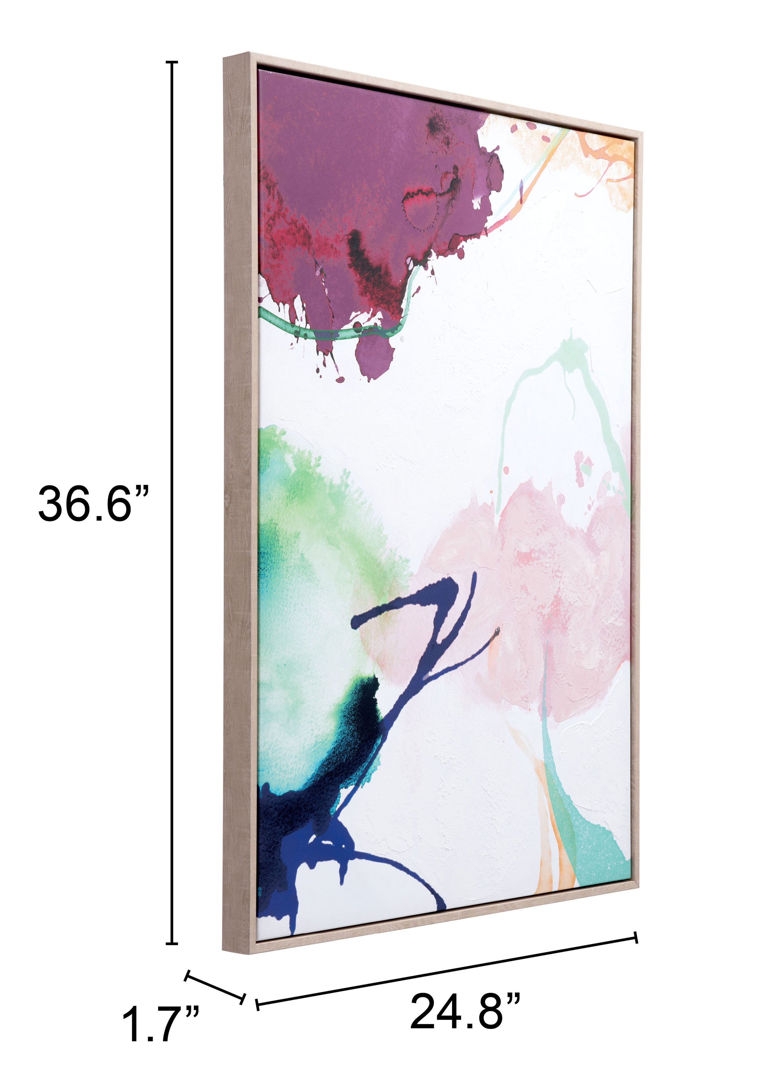 Abstract Party Canvas