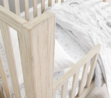 Costa Crib Toddler Bed Conversion Kit, Weathered White, Flat Rate