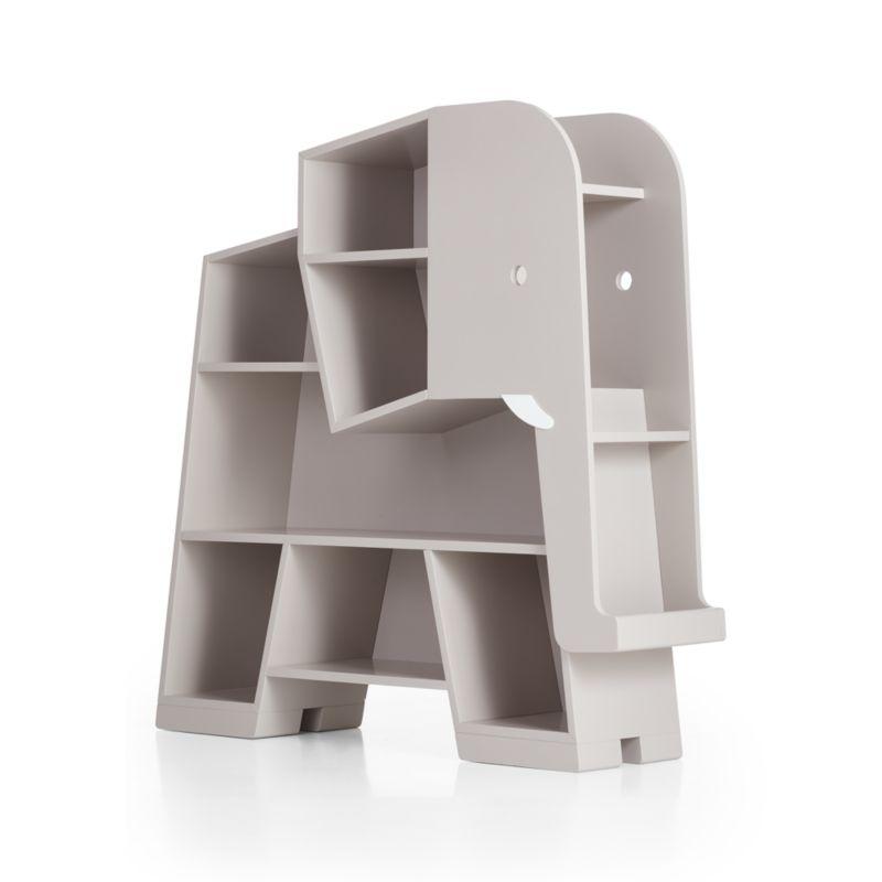 Elephant Grey Bookcase