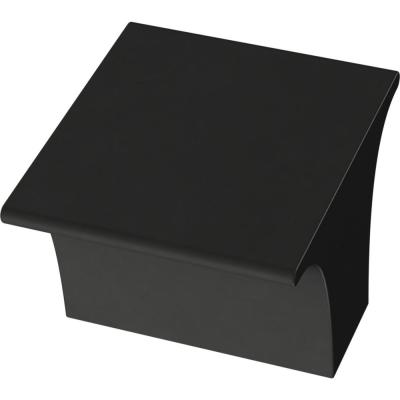 Liberty Inclination 1-1/8 in. (28mm) Matte Black Cabinet Knob