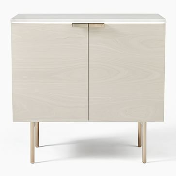 Delphine Entryway Console, Feather Gray