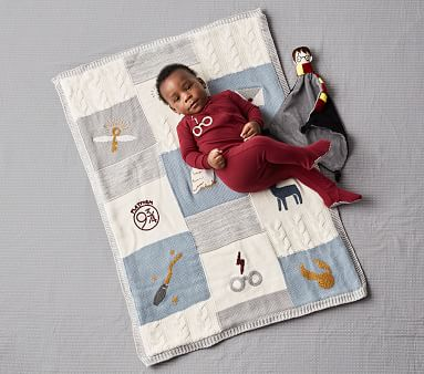 HARRY POTTER(TM) Heirloom Baby Blanket, Multi