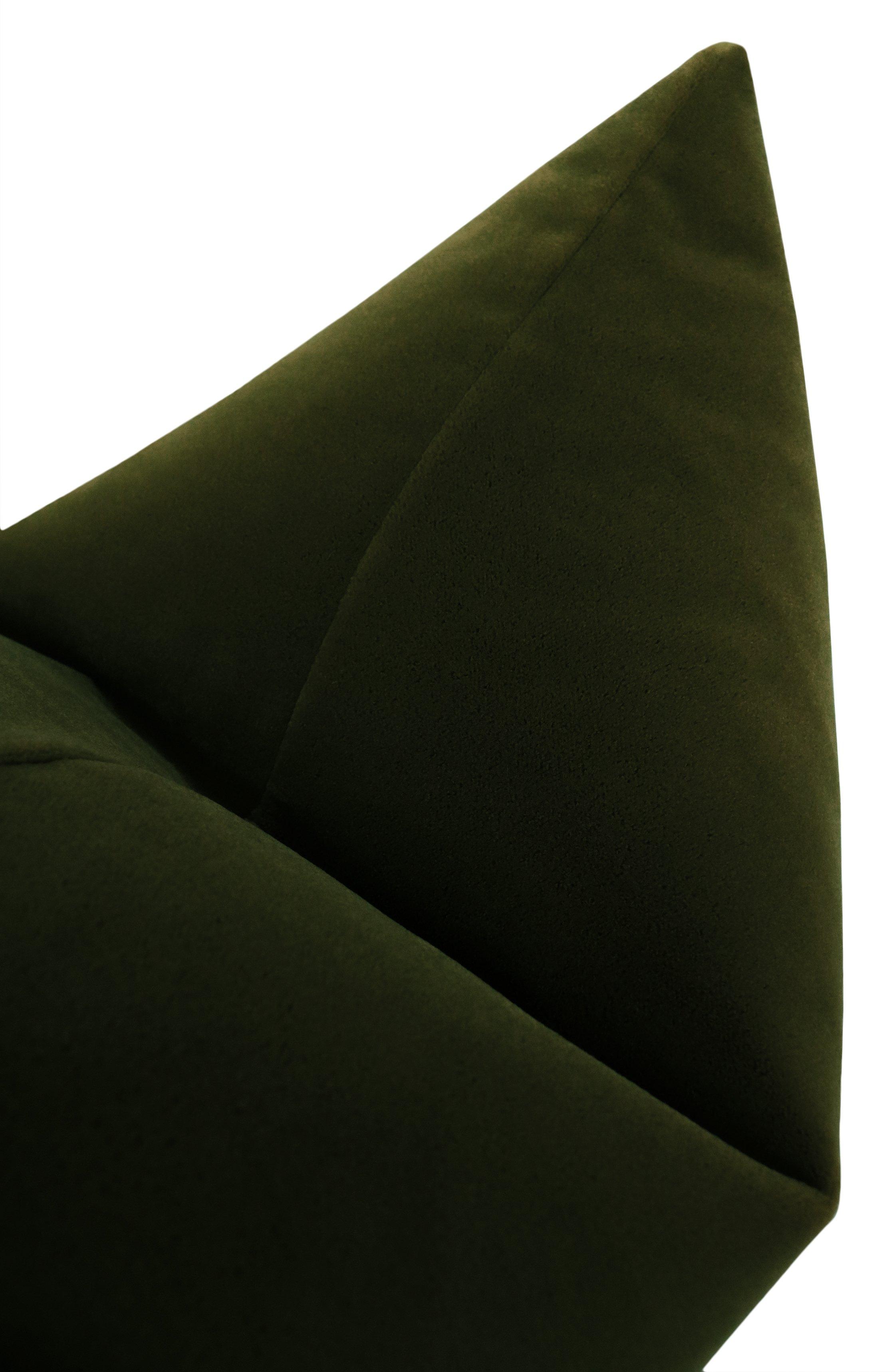 """Mohair Velvet // Olive - 12"""" X 18"""""""
