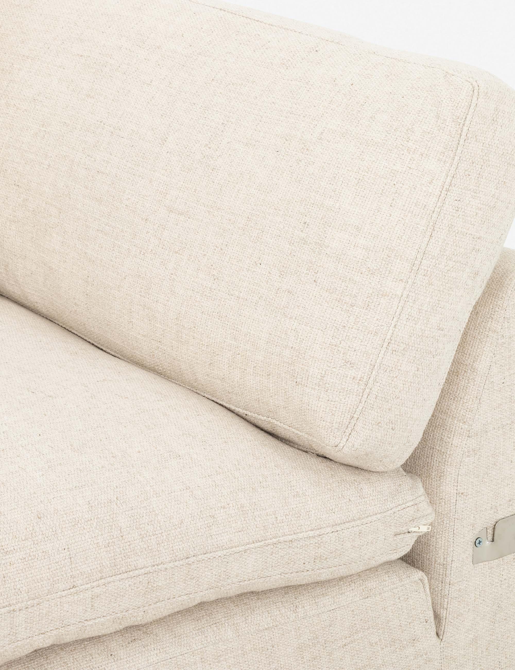 """Rita Left-Facing Sectional Sofa 107"""" x 70"""" x 34"""""""