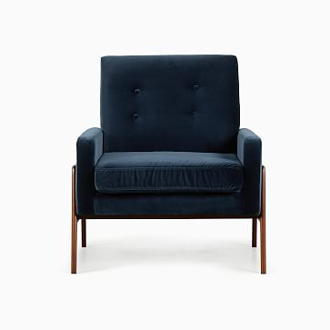 Henley Chair Marble Weave Walnut