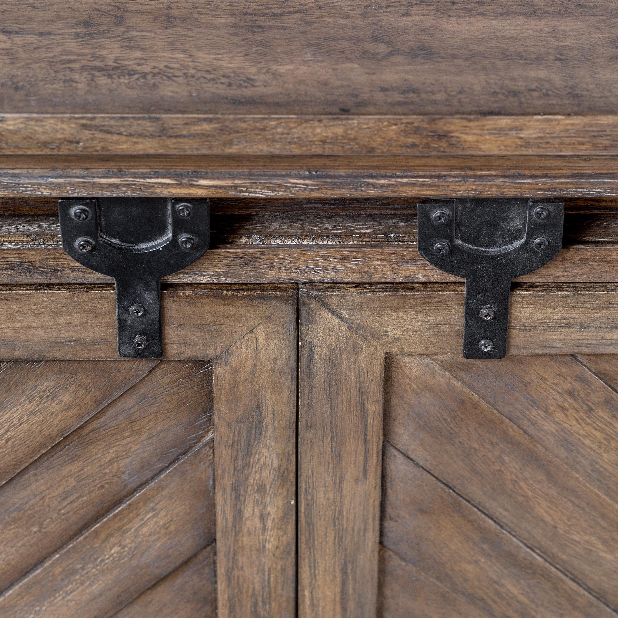 Primalia Barn Door Media Console