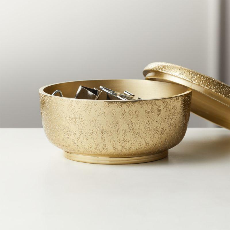 Cache Brass Box