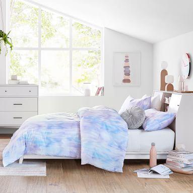 Iris Dream Watercolor Comforter, Twin/Twin XL, Iris